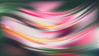 Pink and Green Wave Background Image