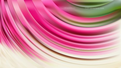 Abstract Pink and Green Curve Background