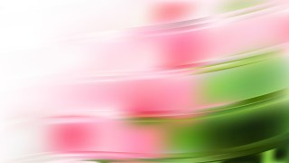 Abstract Pink and Green Wave Background