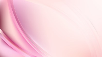 Abstract Pink and White Wavy Background