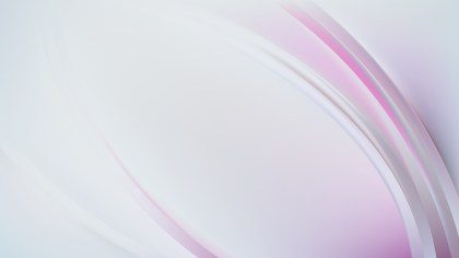 Abstract Pink and White Curve Background