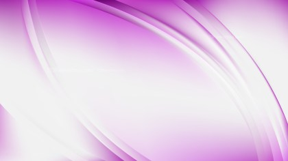 Abstract Pink and White Curve Background Vector Illustration