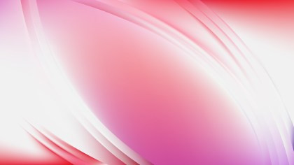 Abstract Pink and White Wave Background Template Vector
