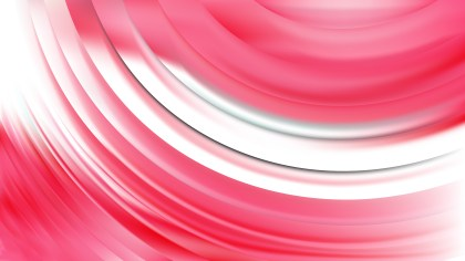 Pink and White Wavy Background