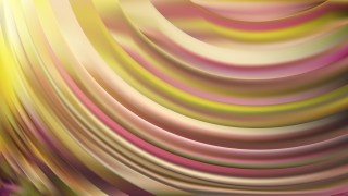 Pink and Yellow Wavy Background Vector Graphic