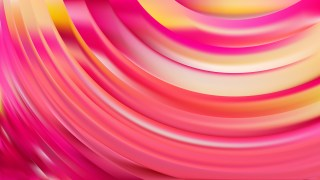 Abstract Pink and Yellow Wave Background