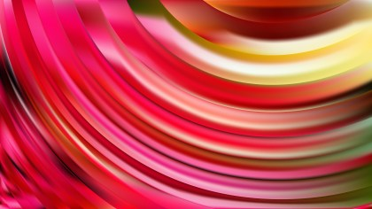 Pink and Yellow Curve Background Image