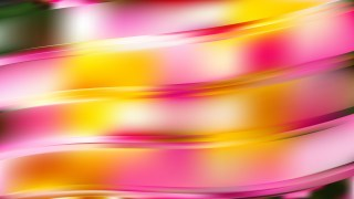 Pink and Yellow Abstract Wave Background Design