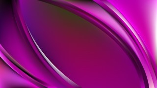 Glowing Abstract Purple Wave Background