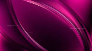 Glowing Abstract Purple and Black Wave Background Design