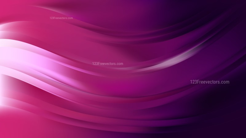 Purple and Black Wave Background Illustration