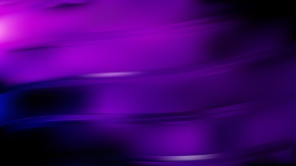 Abstract Purple and Black Curve Background