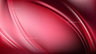 Abstract Red and Black Wave Background Illustration