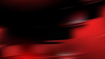 Abstract Cool Red Wave Background