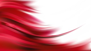 Abstract Red and White Curve Background Illustrator