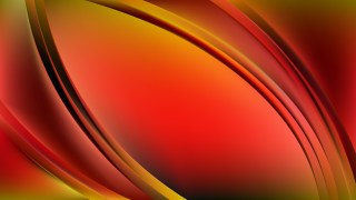 Abstract Red and Yellow Wavy Background