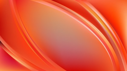Abstract Red and Yellow Curve Background