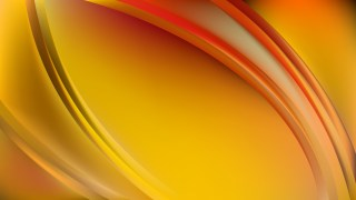 Red and Yellow Abstract Wave Background