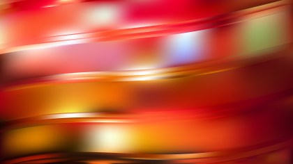 Red and Yellow Abstract Curve Background