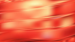 Red and Yellow Abstract Wavy Background Vector Art