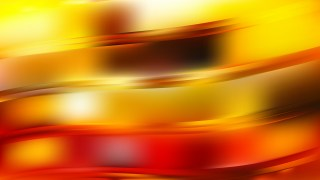 Red and Yellow Abstract Wavy Background