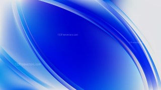 Abstract Royal Blue Curve Background