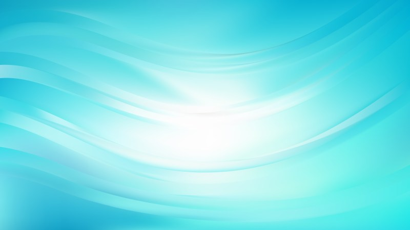 Turquoise Abstract Curve Background
