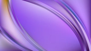 Glowing Violet Wave Background