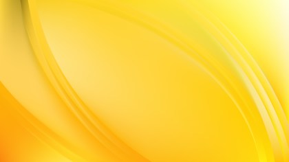 Glowing Yellow Wave Background Graphic