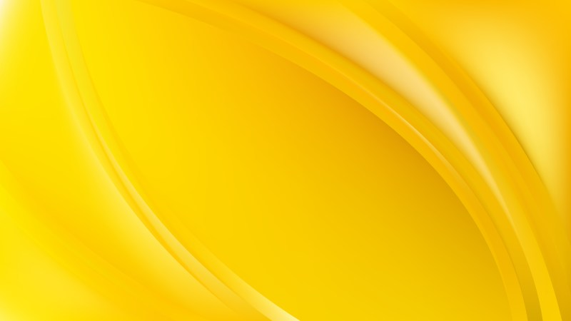 Yellow Abstract Wave Background Template