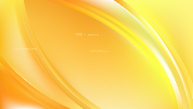 Yellow Abstract Wavy Background Graphic