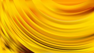 Yellow Curve Background Illustration