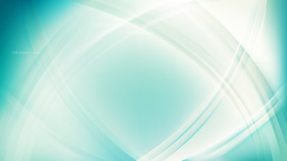 Beige and Turquoise Curve Background Vector