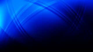 Cool Blue Curved Lines Background Graphic