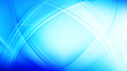 Abstract Blue Curved Background