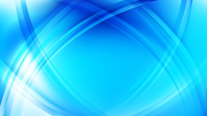 Abstract Blue Curve Background Illustrator