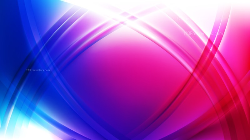 Blue and Purple Curved Background