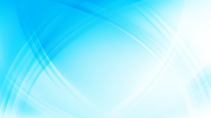 Blue and White Waves Curved Lines Background