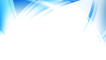Blue and White Curved Lines Background Illustrator
