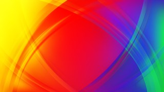 Abstract Colorful Curved Background