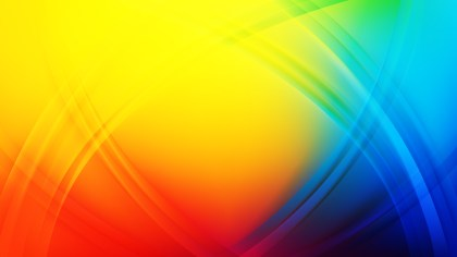 Abstract Colorful Curved Lines Background