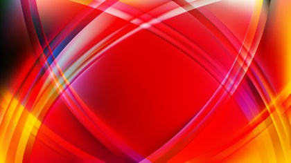Abstract Colorful Curved Lines Background Vector Graphic