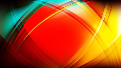 Dark Color Curved Background Illustration