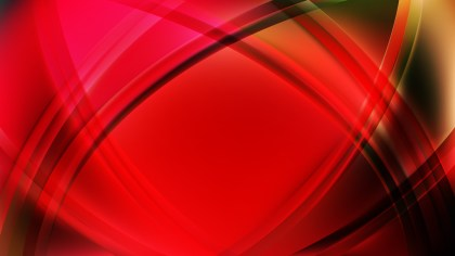 Abstract Dark Red Curved Background