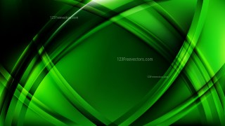 Abstract Cool Green Curved Background Vector Art