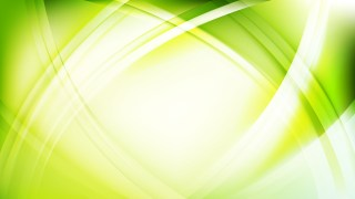 Abstract Green and White Curved Lines Background Graphic