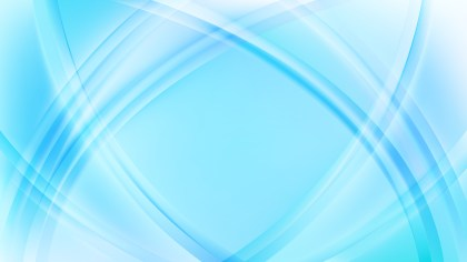 Abstract Light Blue Curve Background