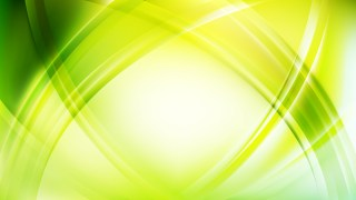 Abstract Light Green Curved Lines Background