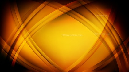 Orange and Black Curved Lines Background Vector Graphic