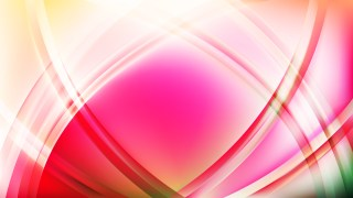 Abstract Pink Curved Lines Background
